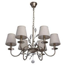 Candelabre, Lustre - Candelabru cu 6 brate design elegant Augustin