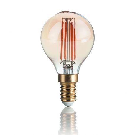 Becuri E14 - Bec LED VINTAGE E14 3.5W SFERA