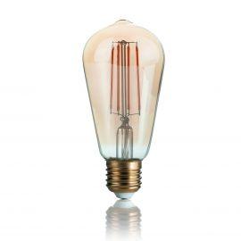 Becuri E27 - Bec LED VINTAGE E27 4W CONO
