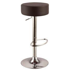 Scaune Bar - Scaun bar A042 maro inchis