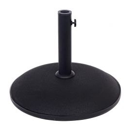 Mobilier terasa - Baza suport umbrela BARRY ROUND BLACK