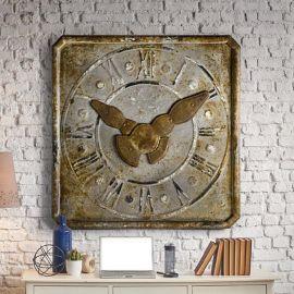 Decoratiuni perete - Basorelief decorativ ceas antic Tempus