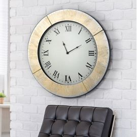 Decoratiuni perete - Ceas de perete decorativ AURORA Ø60