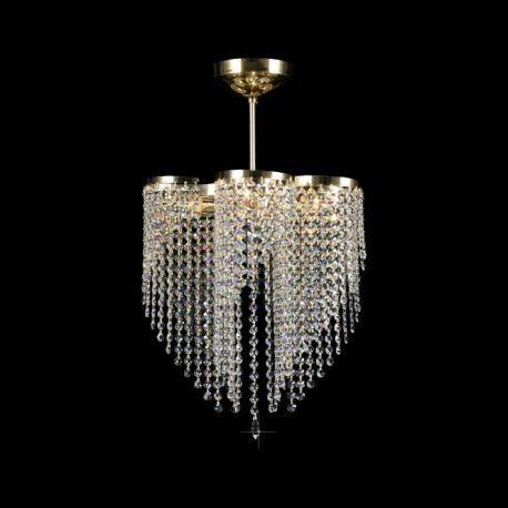 Plafoniere Cristal Bohemia - Lustra, Plafoniera Cristal Bohemia diametru 40cm