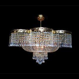 Plafoniere Cristal Bohemia - Lustra, Plafoniera Cristal Bohemia diametru 70cm