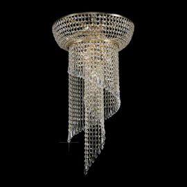 Plafoniere Cristal Bohemia - Plafoniera Cristal Bohemia diametru 40cm
