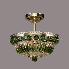 Plafoniere Cristal Bohemia - Lustra Cristal Bohemia, olivine
