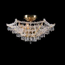 Plafoniere Cristal Bohemia - Lustra Cristal Bohemia diametru 48cm