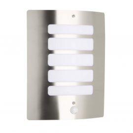 Aplice - Aplica iluminat exterior cu senzor Todd otel