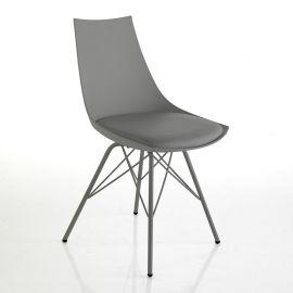 Set 2 scaune KIKI gri