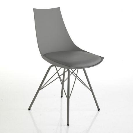 Seturi scaune, HoReCa - Set 2 scaune KIKI gri