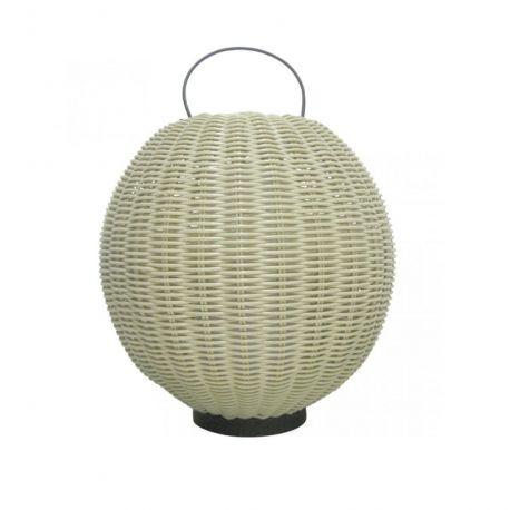 Lampi decorative si solare - Lampa de podea exterior decorativa Arley I natural