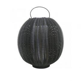 Lampi decorative si solare - Lampa de podea exterior decorativa Arley I neagra