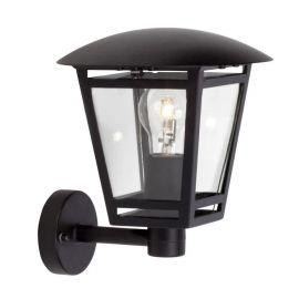 Aplica iluminat exterior Riley Up neagra
