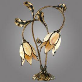 Veioze - Lampa de masa design floral, Karkara
