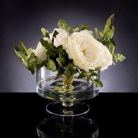 Aranjamente florale LUX - Aranjament floral ETERNITY BOWL ROSE LEAF