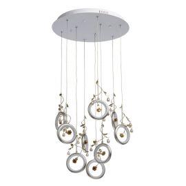 Lustra LED suspendata design elegant Ivona