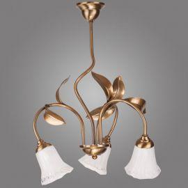Candelabre, Lustre - Candelabru cu 3 brate Karkara auriu