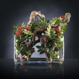 Aranjamente florale LUX - Aranjament floral TRONCO VITE BACCHE