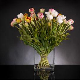 Aranjamente florale LUX - Aranjament floral MIX BUNCH TULIP