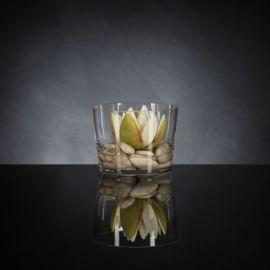 Aranjament floral ROMANTIC LOTUS FLOWER, alb