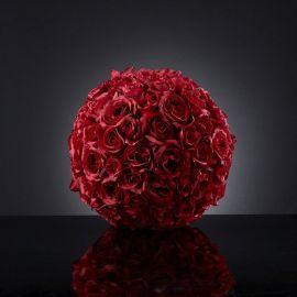 Aranjamente florale LUX - Aranjament floral SPHERE ROSES BIG