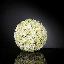 Aranjamente florale LUX - Aranjament floral SPHERE SMALL ROSES MIX BIG