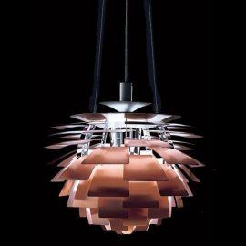 Pendule, Lustre suspendate - Lustra diametru 48cm, ARTIC-48CO cupru