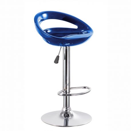 Scaune Bar - Set 2 scaune de bar TUCSON albastru