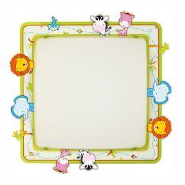 Iluminat pentru copii - Aplica perete sau tavan camera copii Little Zoo