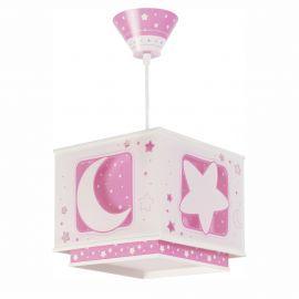 Articole pentru copii - Lustra camera copii Moon Light, roz