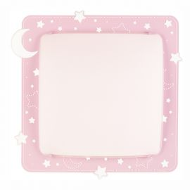 Iluminat pentru copii - Aplica perete sau tavan camera copii Moon Light, roz
