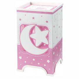 Iluminat pentru copii - Veioza camera copii Moon Light, roz