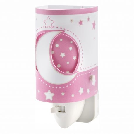 Iluminat pentru copii - Lampa de veghe camera copii Moon Light, roz