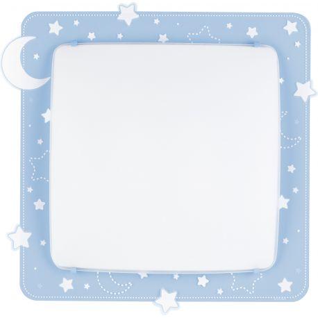 Iluminat pentru copii - Aplica perete sau tavan camera copii Moon Light, albastru