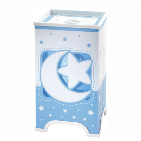 Articole pentru copii - Veioza camera copii Moon Light, albastra