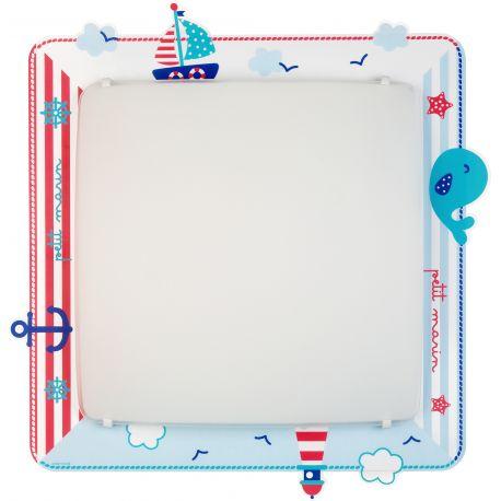 Iluminat pentru copii - Aplica perete sau tavan camera copii Petit Marin