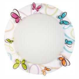 Iluminat pentru copii - Aplica perete sau tavan camera copii Butterfly