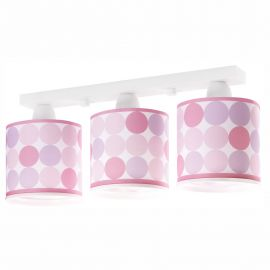 Lustra aplicata camera copii Colors roz