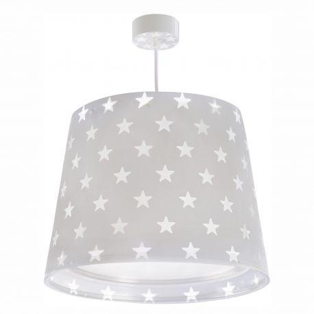 Iluminat pentru copii - Lustra camera copii Stars, gri