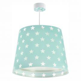 Iluminat pentru copii - Lustra camera copii Stars verde