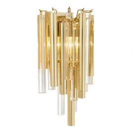 Aplice, corpuri de iluminat pentru pereti - Aplica LUX Gigi auriu