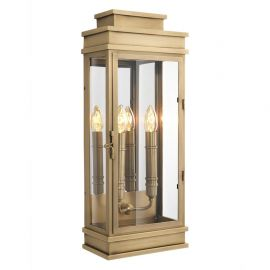 Aplice, corpuri de iluminat pentru pereti - Aplica LUX Linley L alama