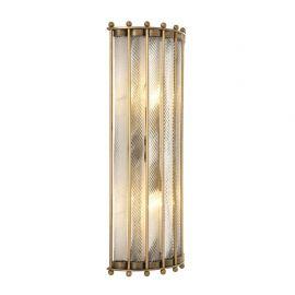 Aplice, corpuri de iluminat pentru pereti - Aplica LUX Tiziano, alama antic
