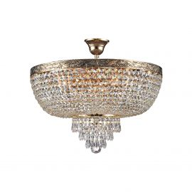 Lustra cristal design elegant Palace 50cm auriu