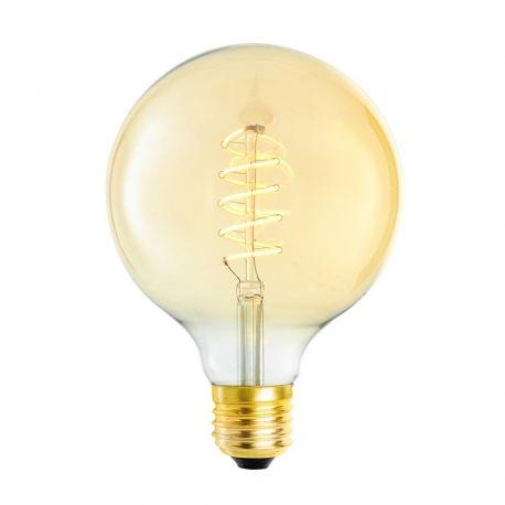 Becuri E27 - Set de 4 becuri E27 LED Bulb Globe 4W