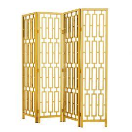 Garderobe - Paravan decorativ design LUX, Davis auriu