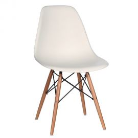 Seturi scaune, HoReCa - Set de 2 scaune design vintage Nordica crem