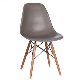 Seturi scaune, HoReCa - Set de 2 scaune design vintage Nordica taupe