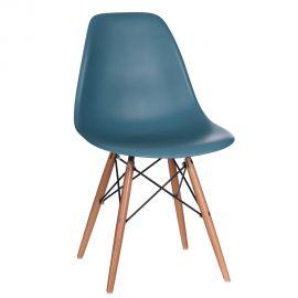 Seturi scaune, HoReCa - Set de 2 scaune design vintage Nordica blue ocean